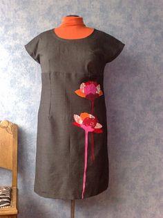 Robe à fleur