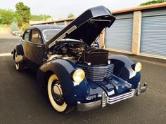 Bid for the chance to own a 1937 Cord 812 Beverly Supercharged at auction with Bring a Trailer, the home of the best vintage and classic cars online. Citroen Traction, Engine Block, Pearl Harbor, Classic Cars Online, World War Two, Luxury Cars, Antique Cars, Cord, Restoration