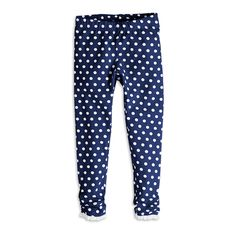 Leggings, Blå, Leggings, Barn | Lindex