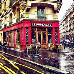 Sip coffee at Le Pure Café.
