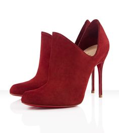 Dugueclina Suede Booties from Christian Louboutin