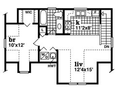 Garage Plan chp-21090 at COOLhouseplans.com