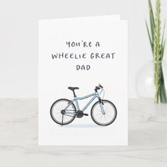 Father's Day Card - Funny - Bike - Biker Cool Dad   biker tattoos outlaw, racing quotes dirt track, badass biker chick #bikers #bikerlife #ktmindia, 4th of july party