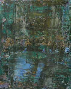 "Saatchi Art Artist Koen Lybaert; Painting, ""abstract N° 953 [A Thousand Days Before]"" #art $2300."