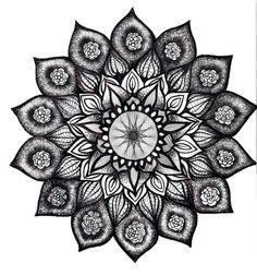 a mandala that would be a beautiful tattoo