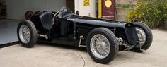 Profile, history and photos on the 1926 Delage 15-S-8 Grand Prix, chassis number four and known as the Dick Seaman Black Delage.