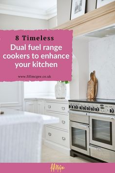 Read on to find out what we think makes the best dual fuel range cookers, their pros and cons and our handy range cookers buying guide here in this blog post. #cookers #dualfuelrangecookers #kitchen #kitchendesign #kitchendecor #kitchenideas #kitchenrenovation #kitchenstyle #kitcheninspiration #kitchenlove #kitchentips Kitchen Tiles Design, Kitchen Cabinet Design, Kitchen Interior, Kitchen Decor, Kitchen Ideas, Kitchen Cabinets, Clever Kitchen Storage, Kitchen Storage Solutions, Hells Kitchen