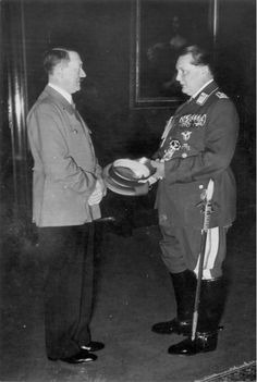Adolf Hitler and Hermann Göring by Heinrich Hoffmann