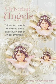 In the Victorian era, the women of the house prepared for the arrival of the Christmas tree by making beautiful ornaments from coloured papers and card. Angels and cherubs were a popular choice as they were regarded as symbols of childlike innocence and purity. Times have changed. . . Our lives are fast paced and …