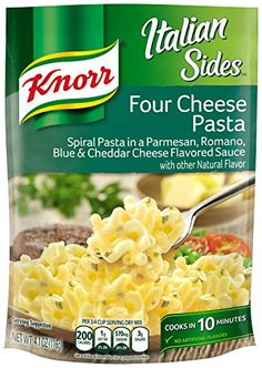 Knorr Italian Sides, Four Cheese Pasta 4.1 oz Knorr