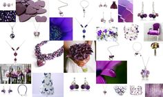 purple mood board