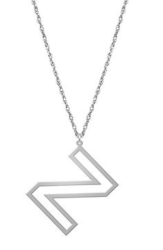 14k yellow gold swirly initial pendant necklace 16 r initial jane basch designs varsity initial pendant necklace aloadofball Choice Image