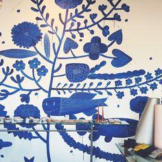 The Makoto Kagoshima mural at @chariotsonfire makes us so happy...