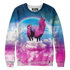Llamacorn Sweatshirt - because I have a weird obsession with ugly clothing