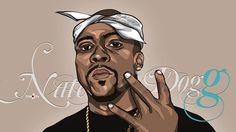 Nate Dogg Art Work