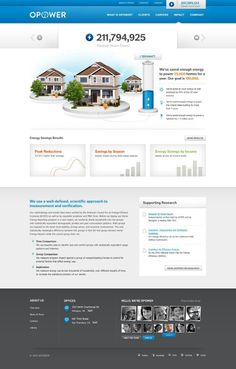 #website #concept for enery preservation company