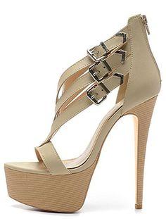 e52283771911f3 Shoekandi Strappy Sparkly Glitter Peep Toe Stiletto Heel - Cross Over Toe - Gold  Glitter - Shoekandi from Shoe Kandi UK  sh…