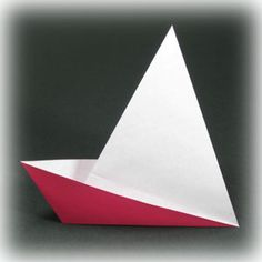 traditional easy origami boat