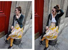 skirt + tights