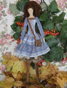 Tilda doll handmade Natalie от Charmerhandshouse на Etsy