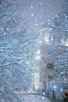 Φλώρινα ~ Florina in snow  Journeys w/color