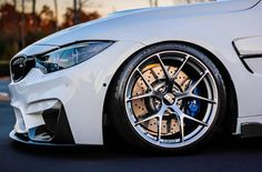 This BMW #F80 #M3 is a real head-turner. #WheelWednesday #CantLookAway