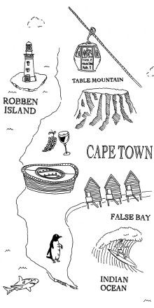 Cape town, South Africa on the J.Crew Blog