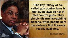 Thomas Sowell on Gun Control