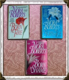 Nora Roberts trilogy...Love Love Love!  This is what started it all!  Needed a book to read on the way to Vegas on the way to a girls weekend.