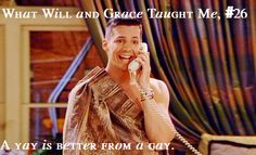 What Will and Grace Taught Me Will And Grace, Funny Jokes, Funny Shit, Great Tv Shows, Vintage Tv, Karen Walker, Big Bang Theory, Movies Showing, Mafia