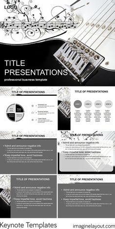 Download Chords for Guitar Keynote templates