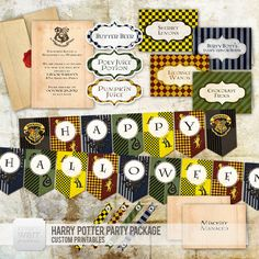 Harry Potter Party // Halloween