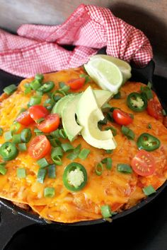 I am so excited about today's dish! We have lots of cheese folks and that makes me one happy girl! My Skillet Enchiladas Casserole is loaded with all my favorite goodies, like cheese, more cheese, and extra extra cheese! I love Mexican food and I love cheese which means this is one of my favorite …
