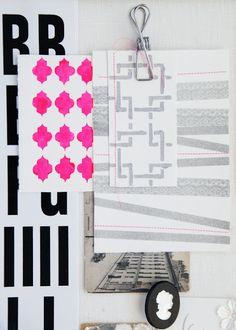 Textiles y papeles para tu estilo NEÓN POP. DECODIY