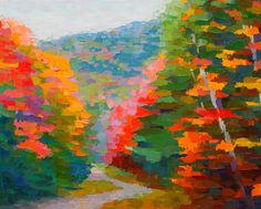 "Contemporary Painting - ""Trail to Mount Chocurua"" (Original Art from Brian Kiernan)"
