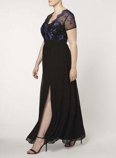 Büyük Beden Uzun Abiye Elbise Modelleri - Gece Elbiseleri - plus size dresses (15)