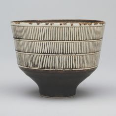Lucie Rie. Footed Bowl. c. 1951