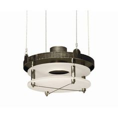 2nd Ave Design Atlantis Ave 1-Light Drum Pendant Finish: Pompeii Gold Premium, Acrylic: Clear Acrylic