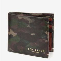 FALLOT迷彩柄二つ折財布 テッドベーカー  TED BAKER オンライン通販【テッドベーカースタイル】