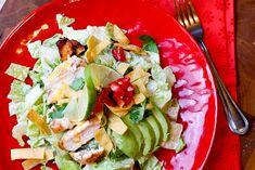 Fiesta Lime Chicken Salad (Applebee's Copycat)