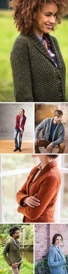 New Favorites: Brooklyn Tweed's best shawl-collar cardigans