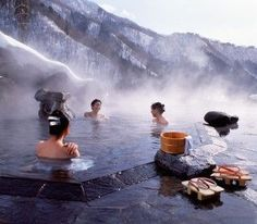 Best Hot Springs Around the World that are Earth's Greatest Gift to Mankind Places to Visit in Japan | Where to go in Japan | Rough Guides: Hot springs in the mountains? If that doesnt say pimpin 30th I dont know what would.