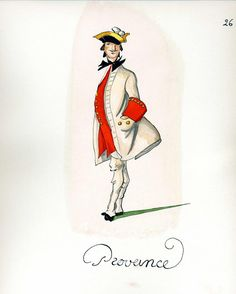 French Army 1735 - Infantry Regiment Provence, by Gudenus.