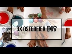 Family DIY: Ostereier färben - YouTube