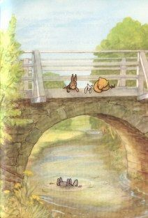 Pooh - one of my childhood favorites.    The Pooh Sketch Book, illustrations by E.H. Shepard, edited by Brian Sibley