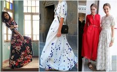 A Common Thread — DIY Inspiration: Maxi Dresses For my next summer...
