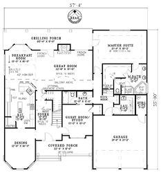 House plans for cool craftsman