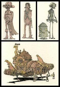 Star Wars: The Baroque Version by Mattias Adolfsson.