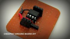 How to make a cheap Attiny Arduino Board