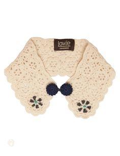 Crochet Collar - Cream
